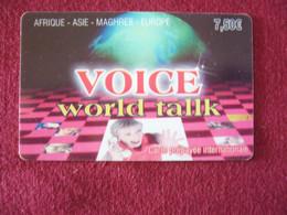 Telecarte  / Carte Prepayée   / World Talk - Tarjetas Prepagadas: Otras