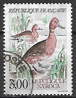 FRANCE    -    1993.  Y&T N° 2786 Oblitéré.  Canard  /   Fuligule Nyroca - Oblitérés