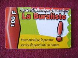Telecarte  / Carte Prepayée   / La Buraliste - Tarjetas Prepagadas: Otras