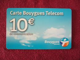 Telecarte  / Carte Prepayée   / Bouygued Telecom - Tarjetas Prepagadas: Otras