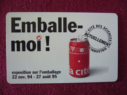 Telecarte  / Carte Prepayée   / Emballe Moi - Tarjetas Prepagadas: Otras