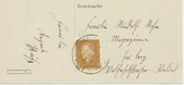DEUTSCHES REICH SCHÖNWALD I. Schwarzwald – Herzlichen Glückwunsch Zum Neuen Jahre – RR! - Lettres & Documents