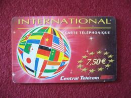 Telecarte  / Carte Prepayée   / Central Telecom - Tarjetas Prepagadas: Otras