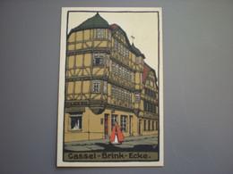 CASSEL - BRINK-ECKE - KUNSTLER STEIN ZEICHUNG - Kassel