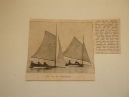 """Origineel Knipsel ( C 84 ) Uit Tijdschrift """" Ons Volk Ontwaakt """" 1914 :  Thielrode  Tielrode - Unclassified"""