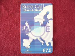 Telecarte  / Carte Prepayée   /  Euro Call - Tarjetas Prepagadas: Otras