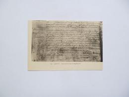 AJACCIO  -  L'Acte De Baptème De Napoléon 1er   -  Corse Du Sud - Ajaccio
