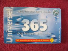 Telecarte  / Carte Prepayée   /  Universel - Tarjetas Prepagadas: Otras