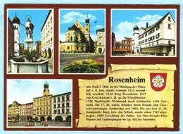 BRD BUND - Rosenheim - Mehrbild -- AK Postcard Cover (2 Scan)(11845AK) - Non Classés
