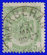 """COB N° 83  Année 1907- """"ARMOIRIES"""" De 1893 - Belle Oblitération """"MARBEHAN"""" - Sonstige"""