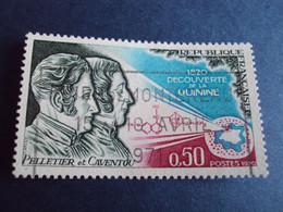 """1970-89  - Oblitéré N°  1633       """"  Découverte Quinine  """"  """"   Foire Montereau 1971 """"         Net  0.50 - Oblitérés"""