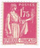 France, N°289 Type Paix - Nuevos