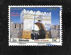 TIMBRE OBLITERE D'ETHIOPIE DE 2017 - Äthiopien