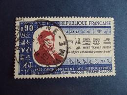 """1970-89  - Oblitéré N°  1734       """"   Champollion  """"  """"   Péronne 1972 """"         Net    0.50 - Oblitérés"""