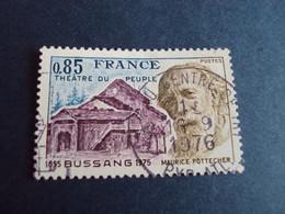"""1970-89  - Oblitéré N°  1846      """"    Bussang  """"  """"   Pau,centre De Tri 1976  """"         Net    0.50 - Oblitérés"""