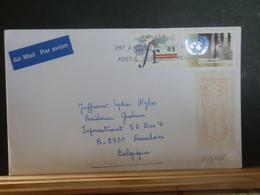 A13/438   LETTRE CANADA POUR LA BELG 1996 - Cartas