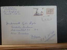A13/439   LETTRE CANADA POUR LA BELG 1991 - Cartas