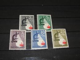 SERIE 661-665 KANKERBESTRIJDING   1955   POSTFRIS (MNH) THE NETEHERLANDS - Neufs