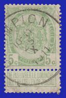 """COB N° 83  Année 1907- """"ARMOIRIES"""" De 1893 - Belle Oblitération """"CHAMPLON"""" - Sonstige"""