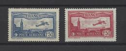 FRANCE. YT  PA N° 5/6  Neuf *  1930 - 1927-1959 Neufs