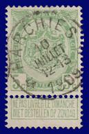 """COB N° 83  Année 1907- """"ARMOIRIES"""" De 1893 - Belle Oblitération DR """"HARCHIES"""" - Sonstige"""