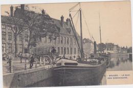 Brugge - Dominicanenkaai (niet Gelopen Kaart Van Voor 1900) - Brugge