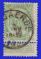 """COB N° 83  Année 1907- """"ARMOIRIES"""" De 1893 - Belle Oblitération """"HOEGAERDE"""" - Sonstige"""