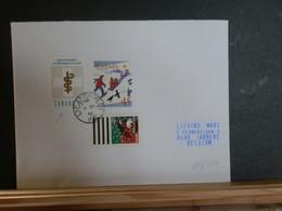 A13/446   LETTRE CANADA POUR LA BELG 1992 - Cartas