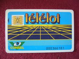 CARTE TELELOT CONSEIL VERSO  Boulogne Sur Mer  62 200   Et / Ou  PULNOY 54420  Au Choix - Tarjetas De Salones Y Demostraciones