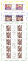 RFA - 1994 - 5 Mini-Feuilles - Y&T N°1606/1608 Oblitèrés - Peinture Allemande - Oblitérés