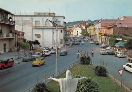 CECCHINA-ROMA-CENTRO E VIA NETTUNENSE-AUTO-CAR-VOITURES-CARTOLINA VERA FOTOGRAFIA-NON VIAGGIATA - Other