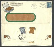 USA 1931 Larus & Brother Co. Richmond Advertising Cover Smoking Pipe Tobacco To Estonia Estland Võru Mi 267 As Single - Briefe U. Dokumente