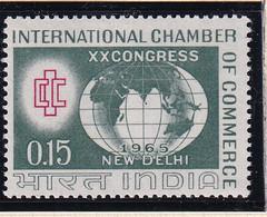 India: 1965   20th International Chamber Of Commerce Congress   MH - Ungebraucht