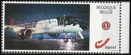 DUOSTAMP/MYSTAMP**- Tintin, Milou, Avion / Kuifje,Bobbie, Vliegtuig / Tim,Struppi,Flugzeug / Tintin,Snowy, Plane (Hergé) - Vliegtuigen