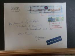 A13/462 LETTRE CANADA POUR LA BELG 1999 - Cartas