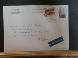 A13/463 LETTRE CANADA POUR LA BELG - Cartas