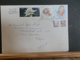 A13/464 LETTRE CANADA POUR LA BELG - Cartas