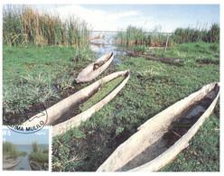 (KK 6) SWA (South West Africa) (2 Maxicard) Boats & Houses - Autres - Afrique