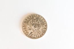 5 Francs Argent   1967 - J. 5 Francs