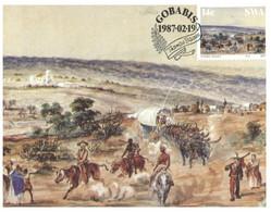 (KK 6) SWA (South West Africa) (2 Maxicard) Art History - Autres - Afrique