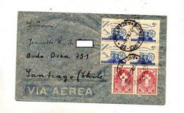 Lettre Cachet Buenos Aires Sur Marine  Croix - Briefe U. Dokumente