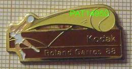 TENNIS ROLAND GARROS 88 1988 Sponsor KODAK - Tenis