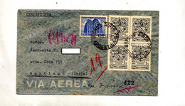 Lettre Cachet Buenos Aires Sur Palais Epargne - Briefe U. Dokumente