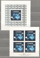 CANADA Millenium 1999 Mi 1882 Sheet Bl 31 Halogram MNH (**)  #21411 - Nuevos