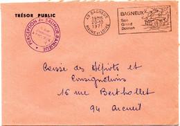 MAINE Et LOIRE - Dépt N° 49 = BAGNEUX 1971 = Flamme + FRANCHISE = SECAP  Illustrée ' GRAND DOLMEN ' - Civil Frank Covers