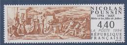 Anniversaire Naissance Nicolas Poussin Neuf N°2896 Moïse Et Les Filles De Jethro - Nuevos