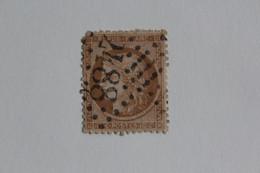 1870 SIEGE DE PARIS Y&T NO 36 10C BISTRE-JAUNE OBLITERE GC 2488 MONTMARTRE TB.. - 1870 Besetzung Von Paris