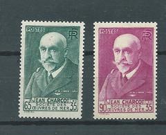 France Yvert N° 377, 377 A  * 2 Valeurs Neuves Avec  Trace De Charnière  - Pal5208 - Unused Stamps