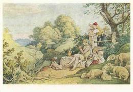 Ludwig Richter - Maienlust - Schilderijen