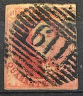 OBP 8 Medaillon 40c - P119 TONGRES - 1851-1857 Medaillen (6/8)